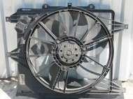 Фото Диффузор радиатора с вентилятором (вентилятор основной)